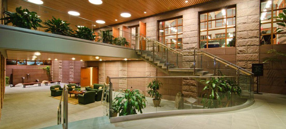 Lobby at The Center